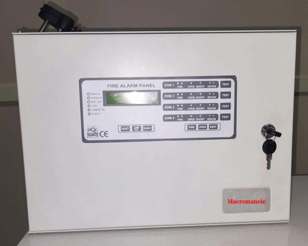 Macromancie 4 Zone Fire Alarm Panel (1)
