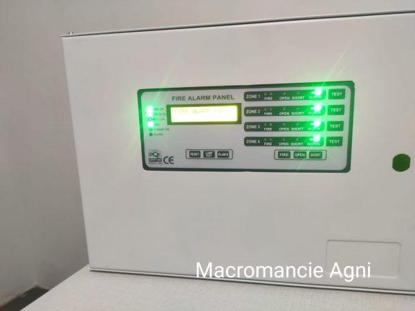Macromancie 4 Zone Fire Alarm Panel (4)